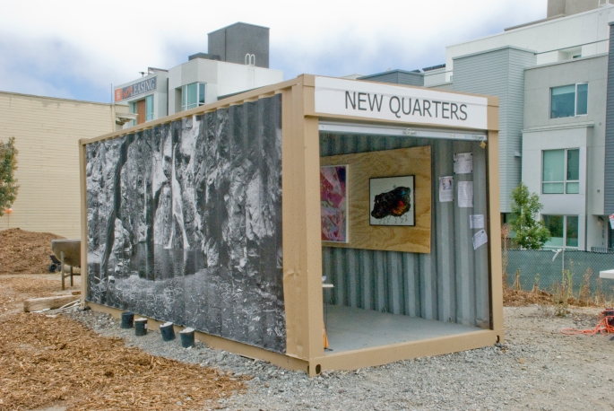 Installation Image from the exhibition New Quarters: An Inaugural Exhibition